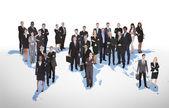 Multiethnic Business People — Stock Photo
