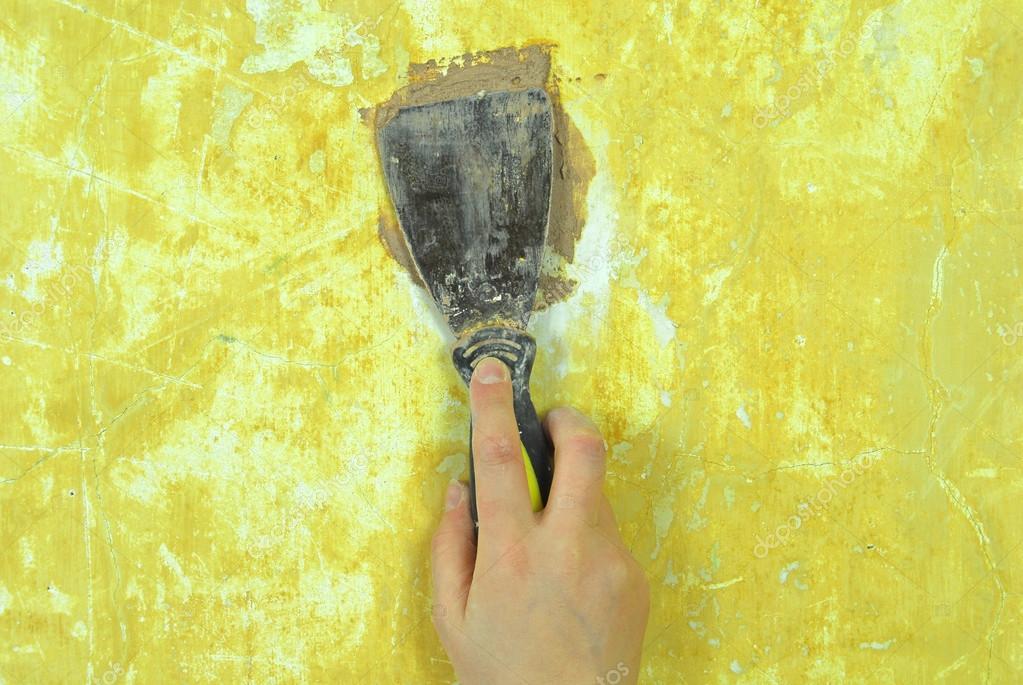 석고 벽 수리 장식 작성 — 스톡 사진 #12572571