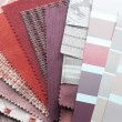 Upholstery and color  samples - Stock Photo