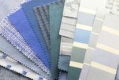 Próbki kolorów tapicerki tekstura — Zdjęcie stockowe