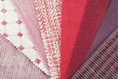 Upholstery texture samples — Stock Photo