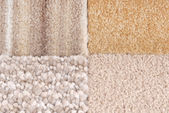 Carpet selection — Stock Photo
