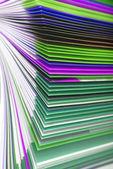 Magazine paper texture — Stock Photo