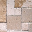 Travertine tiles — Stock Photo