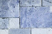 Travertine tiles texture — 图库照片