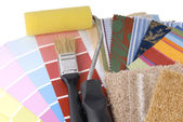 Rapair and decoration planning — Stock Photo
