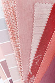 Upholstery texture color samples — Stock Photo