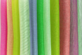 Organza color selection — Stock Photo