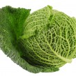 Savoy cabbage isolated — Stock Photo #23374952