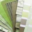 Stock Photo: Tapestry and upholstery color selection