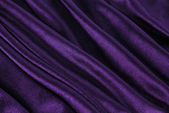 Violet fabric wave — Stock Photo