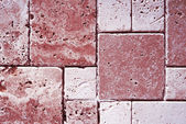 Travertine tiles texture — Stock Photo