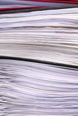 Office folders paper texture macro — Stock Photo