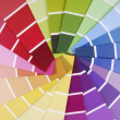 Color guide sampler — Stockfoto