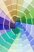 Muestra de la guía de color — Foto de Stock