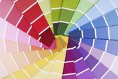 Color guide sampler — Stock Photo