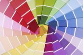 颜色指南取样器 — 图库照片