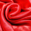 Red silk fabric texture — Stock Photo #33463383