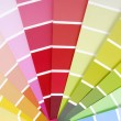 Color chart guide sampler — Stock fotografie #33540611