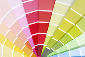 Color chart guide sampler — Stockfoto