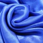 Blue silk fabric texture — Stock Photo #34338423
