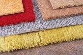 Teppich chooce für den innenausbau — Stockfoto