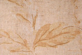 Old linen fabric texture — Stock Photo