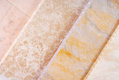 Pvc plastic cladding panel samples — Stock Photo