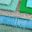 Carpet choice for interior — Stockfoto