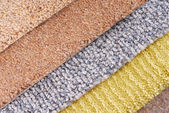 Carpet choice for interior — Stock Photo