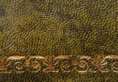 Vintage style leather texture background — Stock Photo