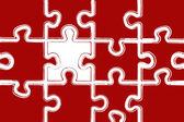 パズルの背景 — 图库照片
