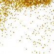 Golden glitter frame background — Stock Photo #37955123