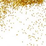 Golden glitter frame background — Stock Photo #37955123