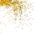 Golden glitter frame background — Stock Photo #37955133