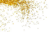 Golden glitter frame background — Stock Photo