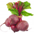 Beetroot bunch isolated on white — Stock Photo #38167745
