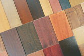 Wood color and texture samples — Stockfoto