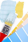 Paint color choice for interior — Stock Photo