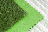 Fabric choice for interior — Stock Photo
