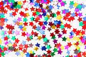 Confetti colorful background — Stock Photo