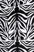Zebra fabric texture pattern — Stock Photo