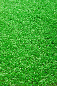 Artificial grass astroturf closeup background — Stock Photo