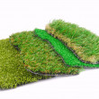 Artificial grass astroturf selection — Stock Photo #43066797