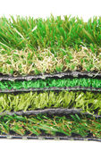Artificial grass astroturf selection — Foto de Stock