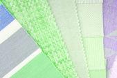 パステル カラー デザインのインテリアの選択 — ストック写真
