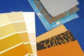 Color design  selection for interior — Stock Photo