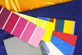 Design Farbauswahl für den Innenausbau — Stockfoto