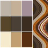Color  selection for interior — Foto de Stock