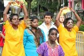 Thaipusam Procession in Singapore — Stock Photo